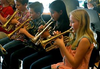Kornettister i Framåt Brassbandet