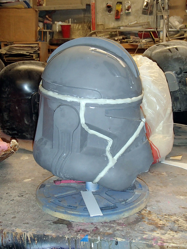 Captain Rex Welds Side