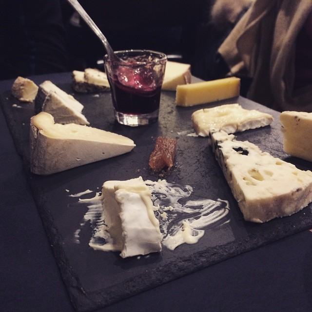Tonight, we mostly ate a LOT of cheese.