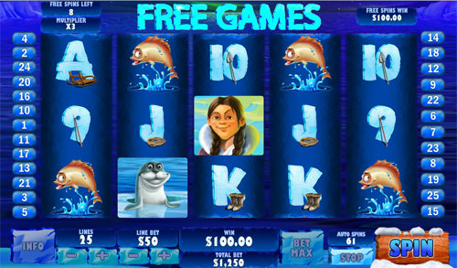 free Ice Run Free Spins