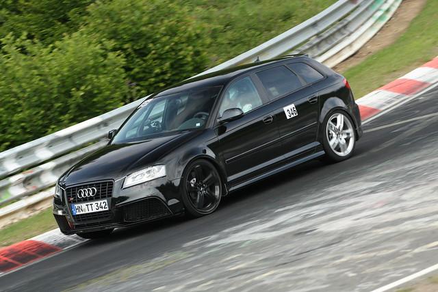 Audi RS3 test mule 5