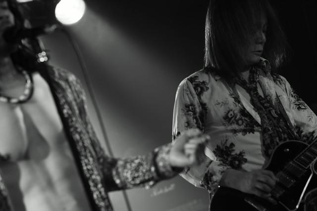 Tangerine live at 獅子王, Tokyo, 29 Jan 2015. 280