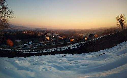 landscape croatia hills