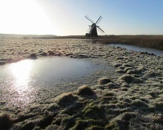 Frosty Morning, Herringfleet Mill