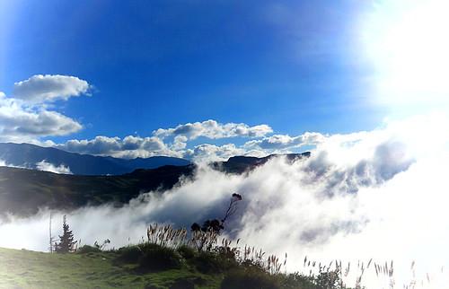 landscape ecuador chimborazo cloudsds