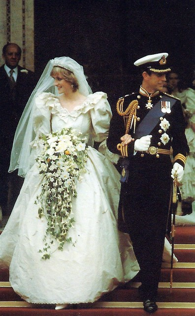 Princess Diana & Prince Charles, Sovereign Series Royal Wedding 1981, No. 27 Leaving St. Paul's Cathedral, July 29, 1981, Published By The Prescott-Pickup Co. Ltd., Made In England