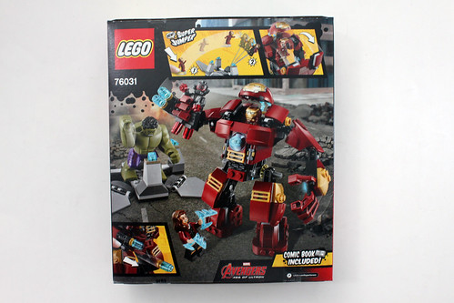 LEGO Marvel Super Heroes Avengers: Age of Ultron The Hulk Buster Smash (76031)