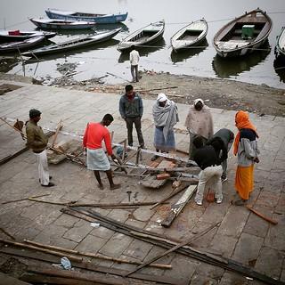 One more new boat. Varanasi