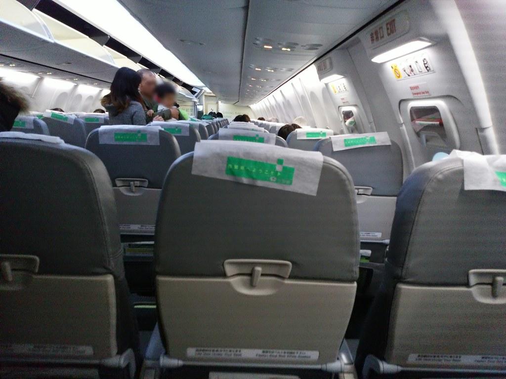 春秋航空(スプリングジャパン)機内10