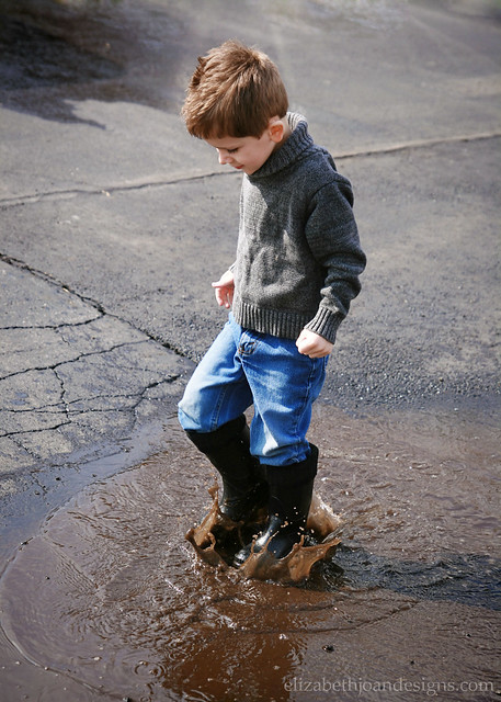 Rain Boots Splash