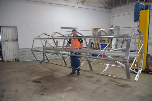 Central body section (Karl Hemphill) - V2 Build Day 16th Mar, 2014