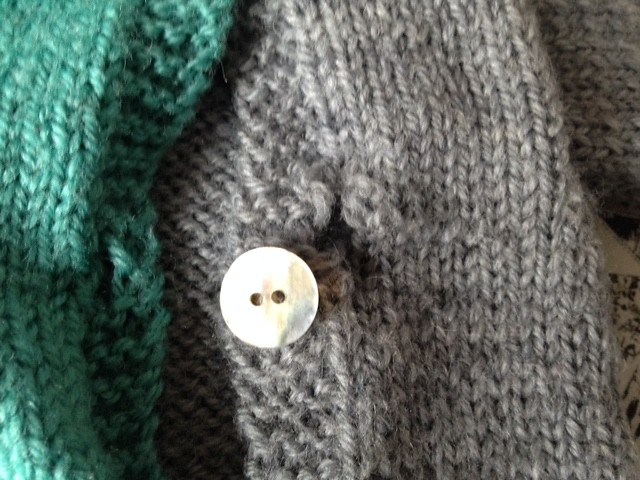 button panel pullover for mr. o