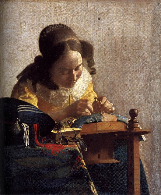 Vermeer_Johannes-The_Lacemaker