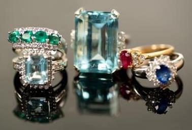 beautiful precious gemstone rings