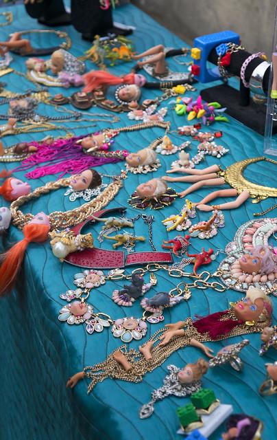 Decapitated Barbie Jewellery