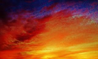 Nature's Celestial Splashing of Color