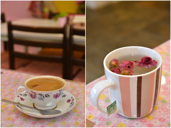 Coffee & Flower Tea