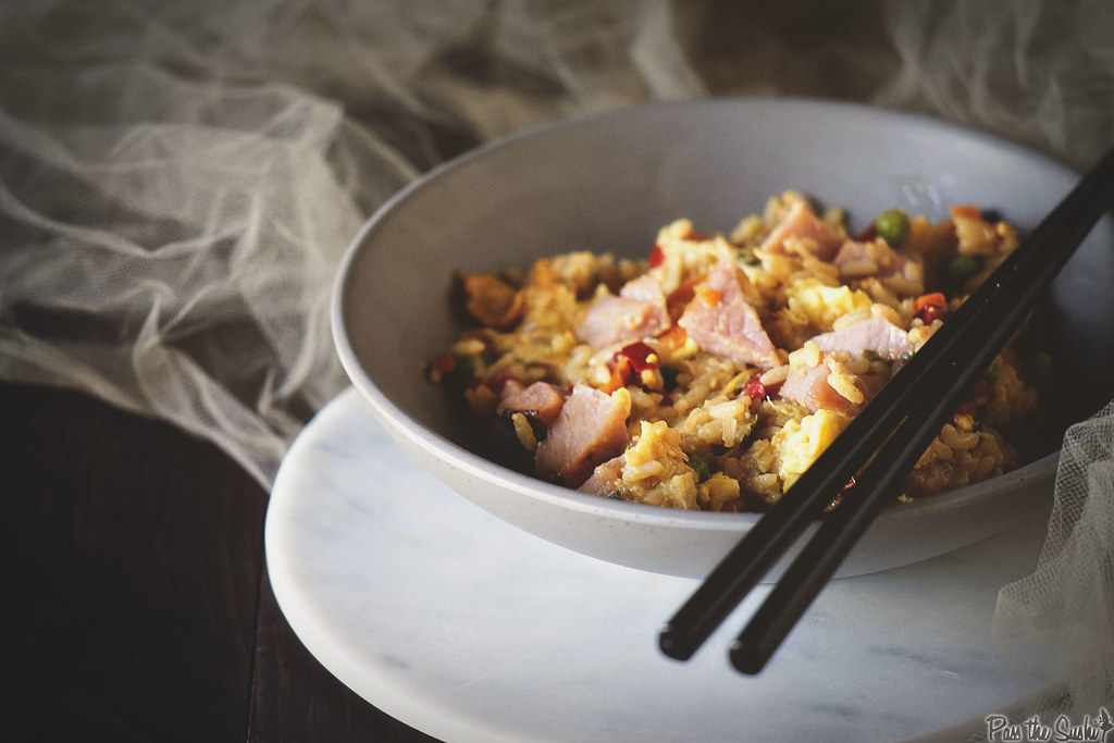 Ham Fried Rice \ GirlCarnivore.com