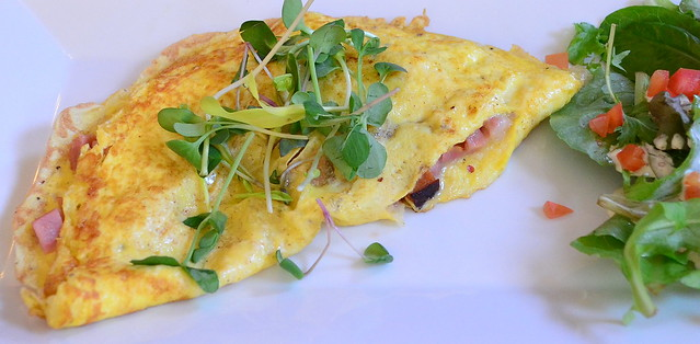 L'Omelette Jambon Fromage