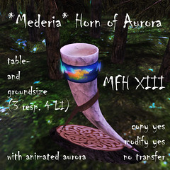 Horn of Aurora for the MFF XIII