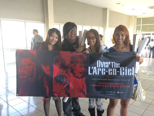 Over The L'Arc-en-Ciel Manila Screening Event Report
