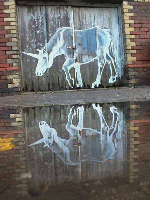 Chinese New Year street art in Cardiff