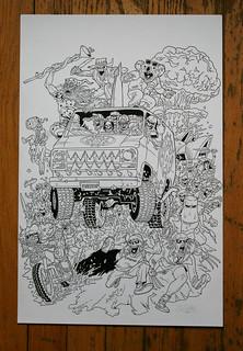 Municipal Waste  Tour art