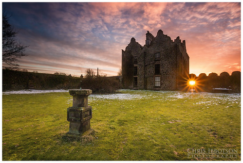 sunset haunted jacobean galgormcastle galgormmanor galgormestate galgormgolfcourse drcoville