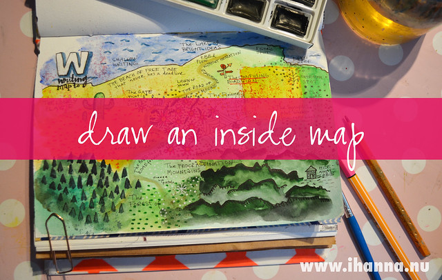 Art Journal Prompt: Draw an inside Map