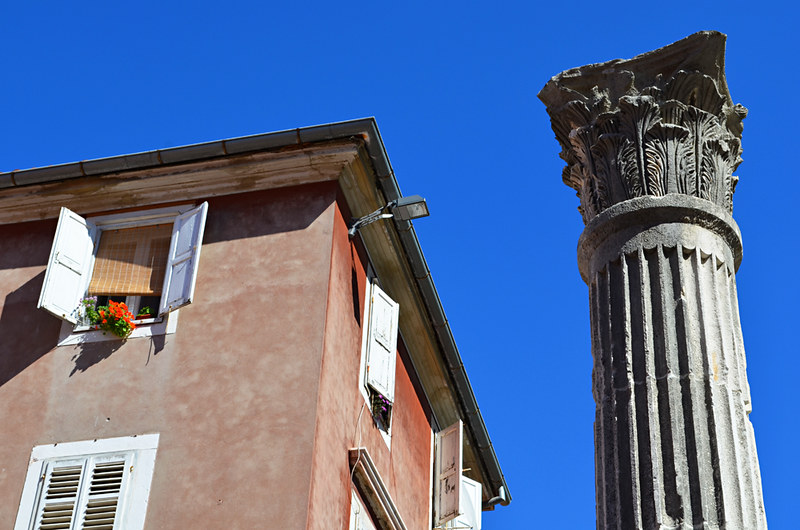 Roman ruins, old town, Zadar, Croatia