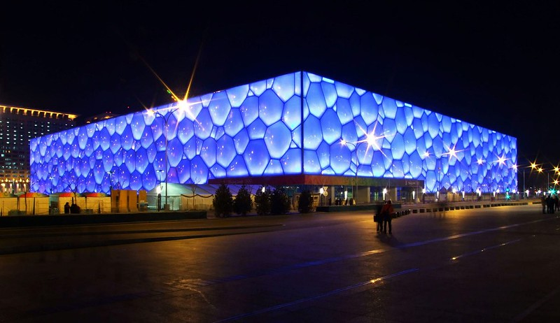 Centro Acuático Nacional de Pekín