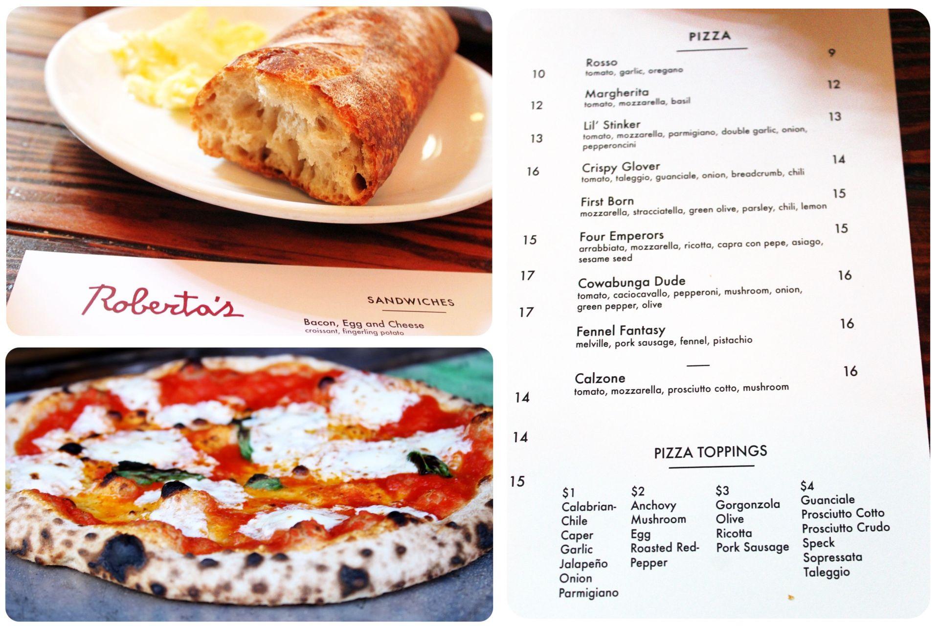 Robertas Pizza Bushwick Brooklyn