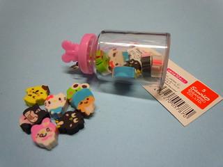 Sanrio Characters Little Jar Erasers
