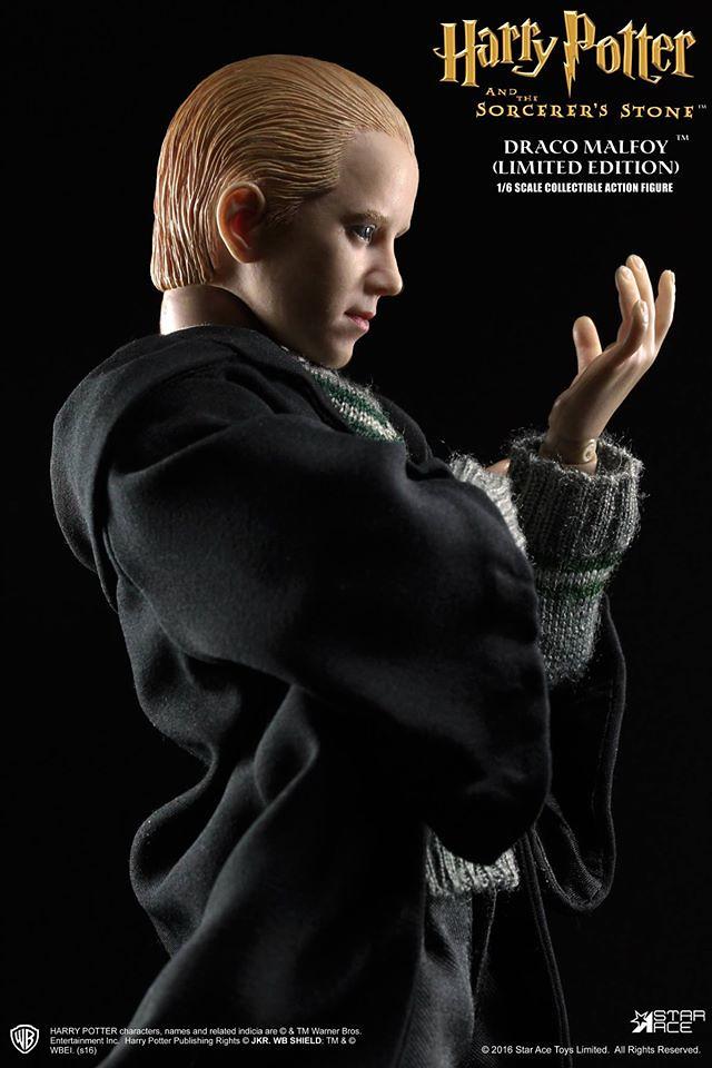 Star Ace Toys 哈利波特:神秘的魔法石【跩哥.馬份】Draco Malfoy 1/6 比例人偶作品