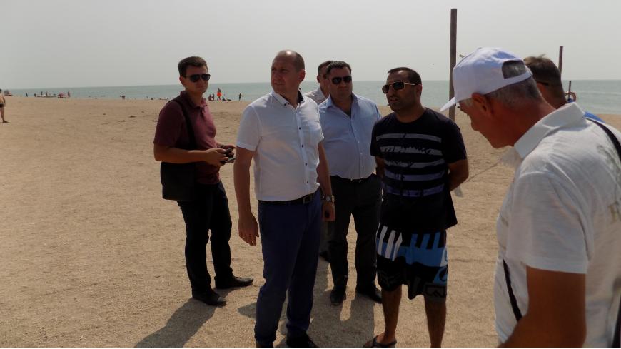 Сергей Сомко: нужно перенаправлять отдыхающих на пляжи Косы Долгой