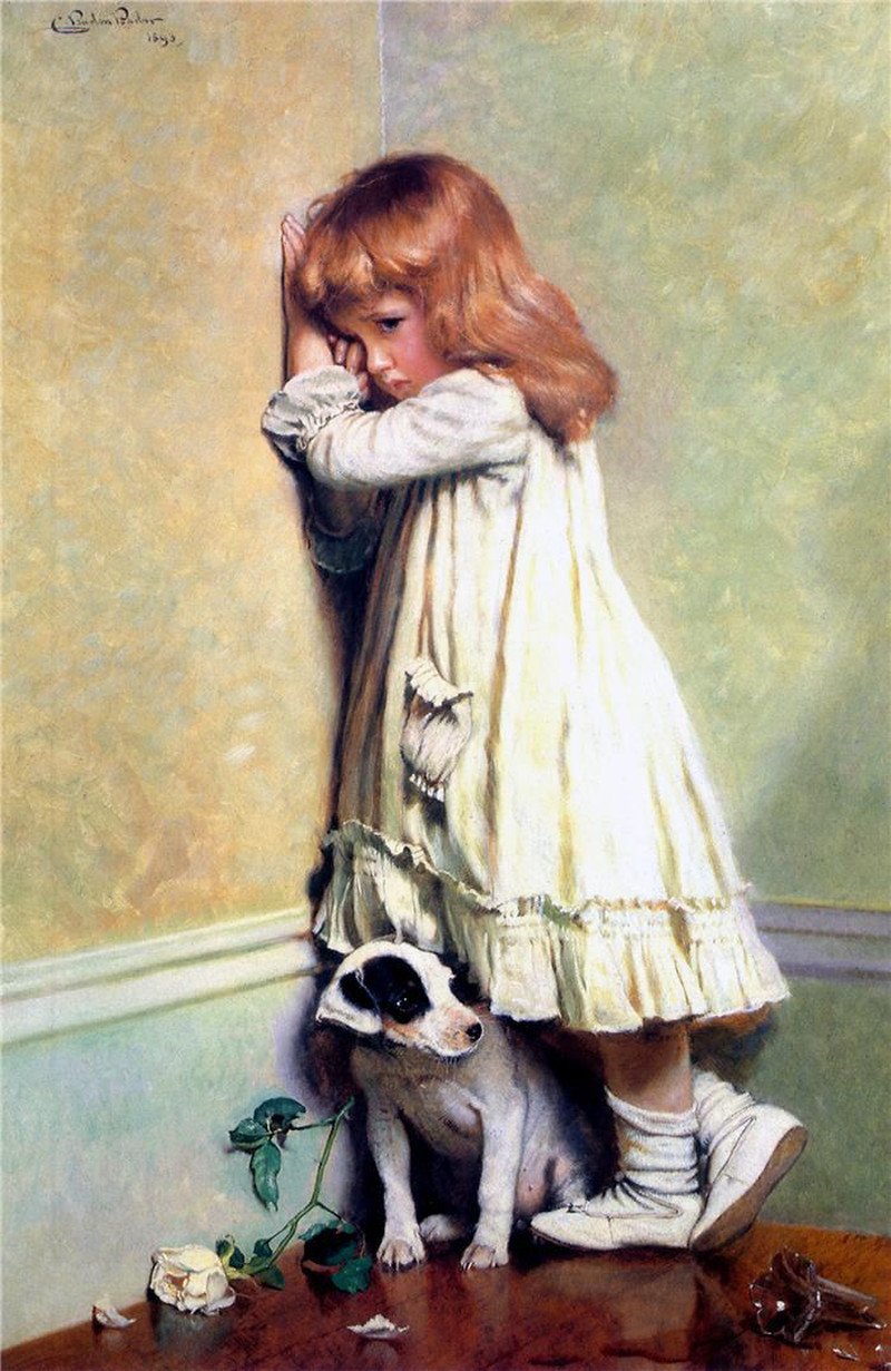 In Disgrace by Charles Burton Barber