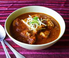 Ayam Lada Merah - Poulet aux poivrons rouges/ Indo…