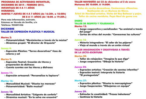 AionSur 15323828934_1e1c342b4f_d Once talleres y muchas actividades para los jóvenes de ArahalCultura