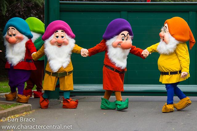 Meeting the Seven Dwarfs