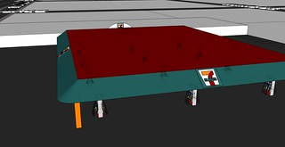 Gas Station with roof