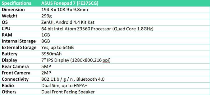 Chiếc tablet được nâng cấp mạnh mẽ FE375CG - 55330