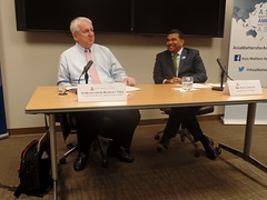 Ambassador Robert Orr and Dr. Satu Limaye candidly discuss the status of the Asian Development Bank.