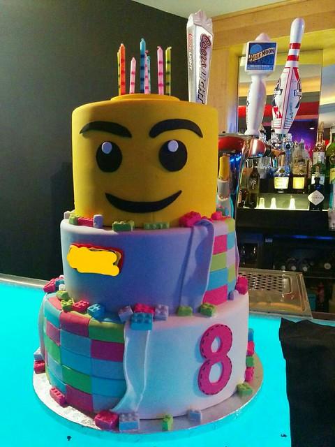 Party Cake. Lego theme