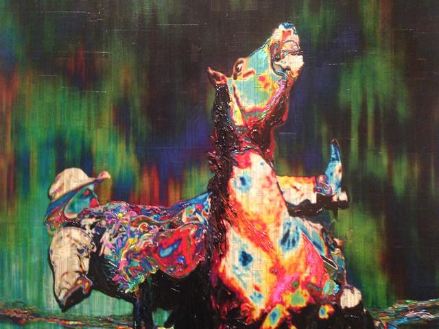 Gordon Cheung, Fallen. Knoxville Museum of Art