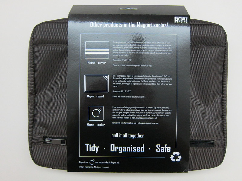 Magnat Carrier Bag - Packaging Back