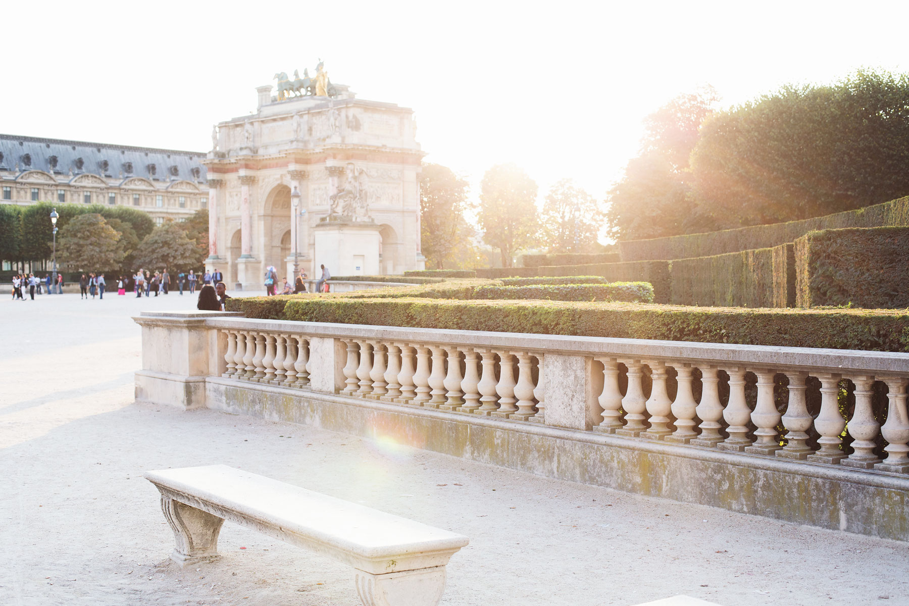 Jardin des Tuileries, photo by Carin Olsson (Paris in Four Months)