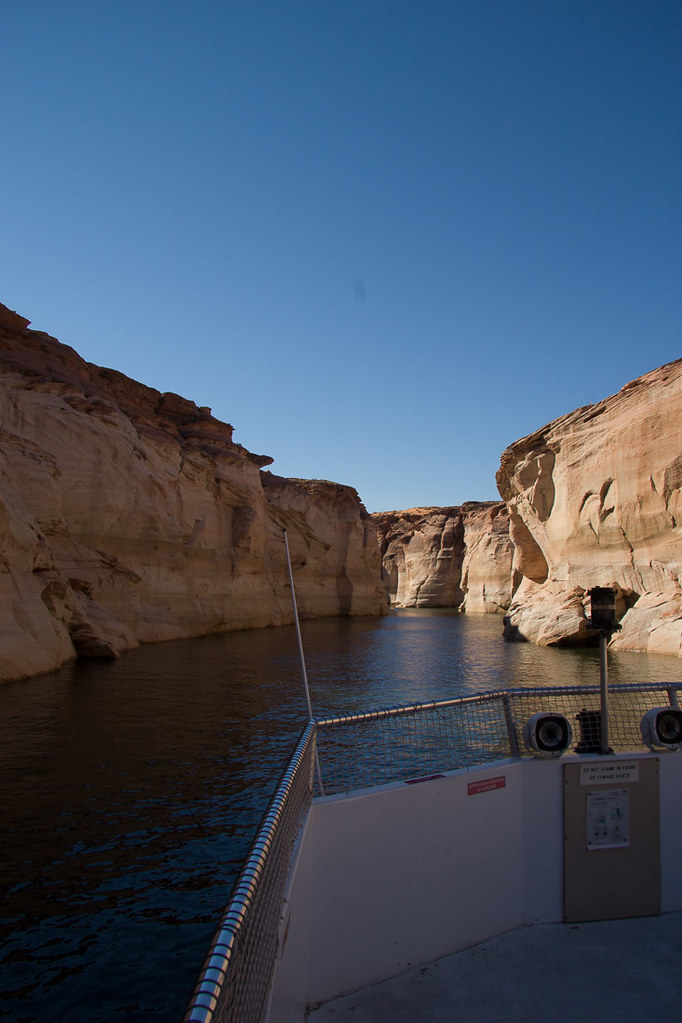 Views from Lake Powell tour boat