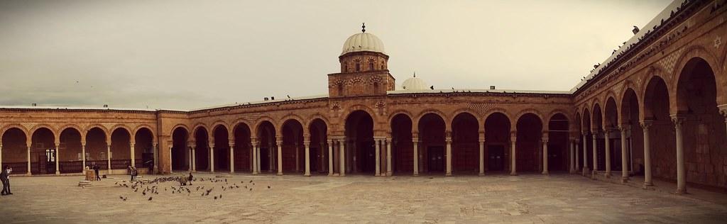 Mosquée Zitouna, Tunis, Tunisie.