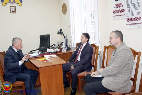 Встреча Председателя ППУ и Начальника главного управления пенсионного фонда Украины в Ивано-Франковской области (6)