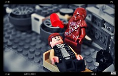 Chewie and Han Ice Bucket Challenge